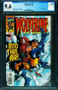 Wolverine #131 CGC 9.6-Corrected edition-Marvel-2006680015