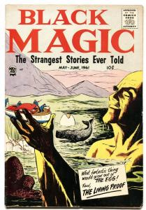Black Magic Vol 8 #2 1961- Horror-Steve Ditko art VG/FN