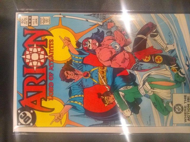 Arion, Lord of Atlantis #3 (1983)