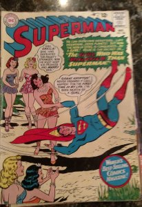 Superman #180 (DC, 1965) Condition: GD/VG