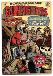 Gunfighters #18 1964- Golden Age Western comic Reprint - VG/F