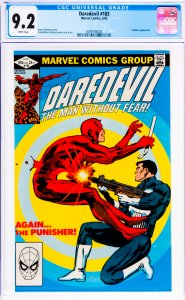 Daredevil #183 CGC Graded 9.2 Punisher appearance.