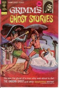 GRIMMS GHOST STORIES 9 VF   May 1973 COMICS BOOK