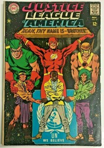 JUSTICE LEAGUE OF AMERICA#57 VG/FN 1967 DC SILVER  AGE COMICS