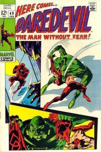 Daredevil (1964 series) #49, VG- (Stock photo)