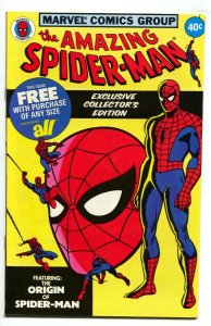 AMAZING SPIDER-MAN 1979 All Promotional comic-Origin issue VF/NM