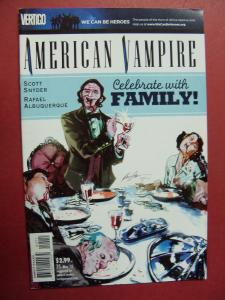 AMERICAN VAMPIRE, CELEBRATE WITH FAMILY #25   (9.0  VF/NM)  DC VERTIGO