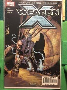 Weapon X #21 Countdown to Zero: Conclusion