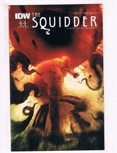 The Squidder # 4 1st Print Variant Cover IDW 44 Flood Comic Templesmith S95