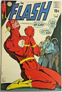FLASH#198 FN/VF 1970 DC BRONZE AGE COMICS