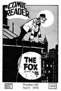 Comic Reader, The #105 FN; Street Enterprises | save on shipping - details insid