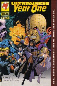 Ultraverse Year One #1, NM + (Stock photo)