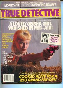 TRUE DETECTIVE-04/1988-COOKED ALIVE FOR A 250 GRAND PAY OFF! VG