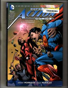 Superman Action Comics Vol. # 2 DC Comics Graphic Novel Book HARDCOVER J346