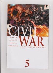 CIVIL WAR #5 VF/NM 2006 MARVEL COMICS