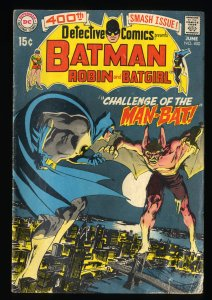 Detective Comics #400 GD/VG 3.0 1st Man-Bat!