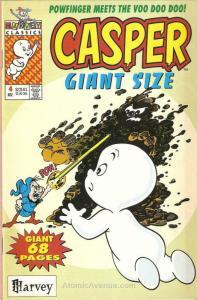 Casper Giant Size #4 FN; Harvey   save on shipping - details inside