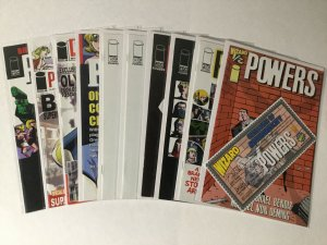 Powers 1/2 8-35 37 Giant Annual 1 Image 1-14 16-24 Icon Lot Very Fine-near Mint