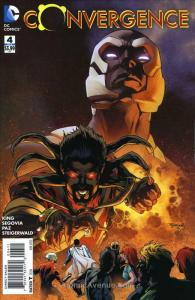 Convergence #4 VF/NM; DC | save on shipping - details inside