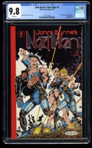 John Byrne's Next Men #1 CGC NM/M 9.8 White Pages