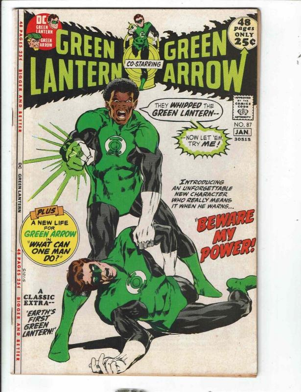 Green Lantern # 87 VF DC Comic Book 1st John Stewart Appearance HOT KEY TD1