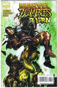 MARVEL ZOMBIES RETURN #3, 2nd, Variant, NM, Suydam, 2009, Hulk vs Iron Man