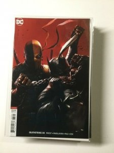Deathstroke 35 Variant Near Mint Dc Comics HPA
