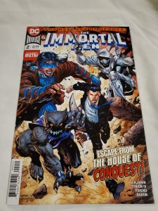 Immortal Men 2 Near Mint  Cover by Jim Lee and Scott Williams