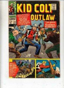 Kid Colt Outlaw # 133 strict VG/FN artist Paul Reinman