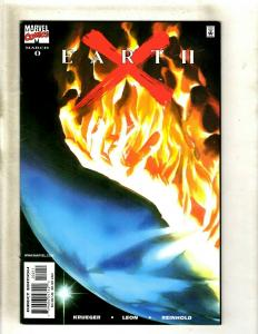 12 Earth X Marvel Comic Books #0 1 3 4 5 6 7 8 9 10 10 X HY3