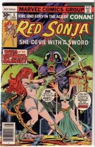 Red Sonja   (Marvel vol. 1)   # 3 VG