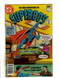 The New Adventures of Superboy #15 (1981) DC Comic Superman OF8