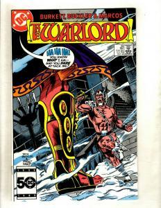 12 Warlord DC Comics # 98 99 100 101 102 103 104 105 106 107 108 109 GK20