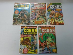 Conan the Barbarian Annual #1-10 avg 6.0 FN (1973-85)