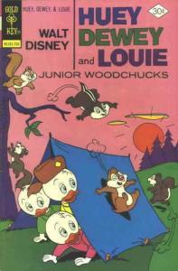 Huey, Dewey, and Louie Junior Woodchucks #43 VF/NM; Gold Key | save on shipping