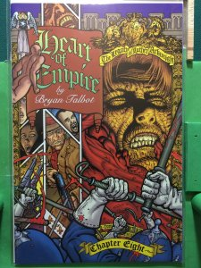 Heart of Empire #8 The Legacy of Luther Arkwright