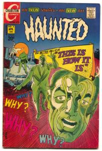 Haunted #5 1972- Charlton comics Steve Ditko FN