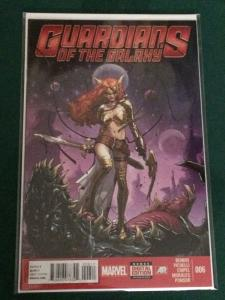 Guardians of the Galaxy #6  featuring Spawn's Angela