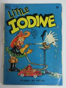 LITTLE IODINE #2 (Dell, 6/1950) POOR (PR) Comic Hijinxs abound!