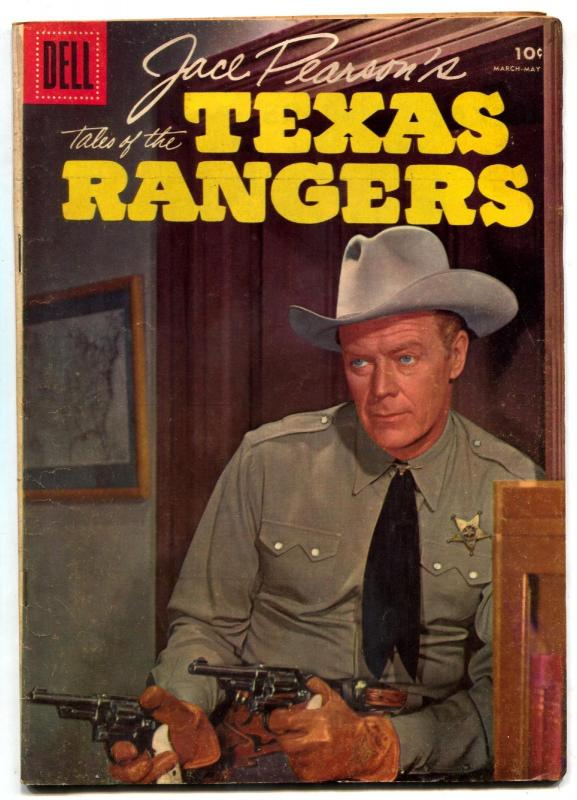 Jace Pearson's Tales of the Texas Rangers #11 1956- Dell Western- FN