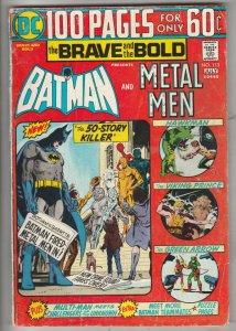 Brave and the Bold, The #113 (Jul-74) VG+ Affordable-Grade Batman, Metal Men ...