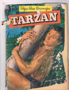 Tarzan # 43 FR Dell Golden Age Comic Book 1953 Edgar Rice Burroughs Jungle JH2