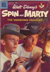 Spin and Marty, Walt Disney's #5 (Mar-58) FN+ Mid-Grade Annette, Spin and Marty