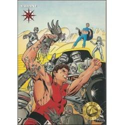 1993 Valiant Era MAGNUS ROBOT FIGHTER #9 - Card #10