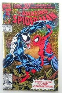 Amazing Spider-man 375 | Key 1st She Venom | CGC Ready | Marvel | Holo-grafx