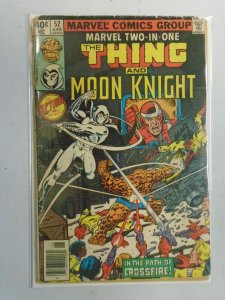 Marvel Two-in-One #52 The Thing and Moon Knight 2.0 GD (1979 1st Series)
