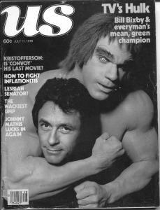 US 7/11/1978-Hulk TV Show-Stan Lee-Bill Bixby-Lou Ferrigno-VG