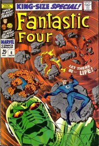 Fantastic Four King-Size Special #6 (ungraded) stock photo / SCM