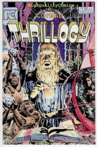 THRILLOGY #1, NM+, Tim Conrad, Pacific Comics, 1984, more indies in store
