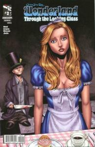 Grimm Fairy Tales Presents Wonderland: Through the Looking Glass #2A VF; Zenesco